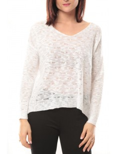 Pull léger Love Look 325 Blanc - 1 acheté = 1 offert