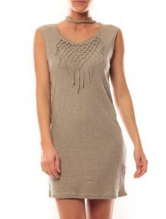 Mini Dress Starlight SL 10107349 Kaki - vetement femme