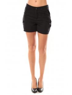 Shorts Sunny Day 10108018 Noir - vetement femme