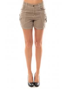 Shorts Sunny Day 10108018 Beige - vetement femme
