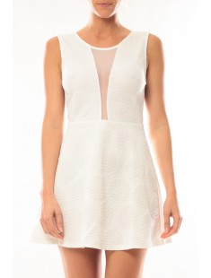 Robe Lucce 9199 Blanc - vetement femme