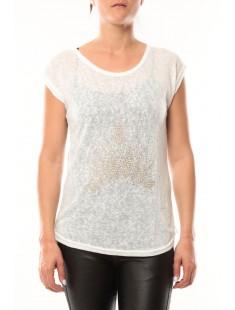 T-Shirt Love Look 332 Blanc