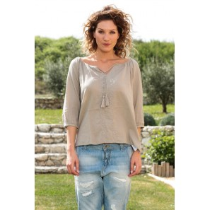Top Fig 3/4 GA IT 10107504 Taupe
