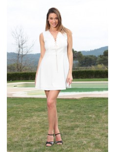 Robe Allyson R1173-6 Blanc