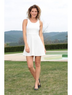 Robe Lucce 9268 Blanc