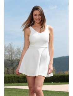 Robe Lucce 1007 Blanc
