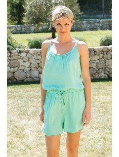 Playsuit Another Friday 10108425 Vert - vetement femme