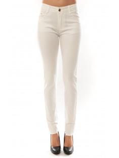Pantalon B3523 Blanc - vetement femme