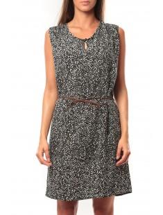 Short Dress Amanda S/L Mix It 10108973 Noir - vetement femme