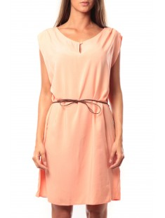 Short Dress Amanda S/L Mix It 10108973 Rose - vetement femme