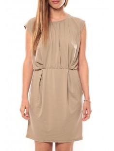Short Dress Coco S/L It 10108916 Marron - vetement femme