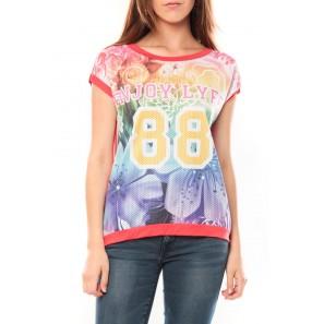 T-shirt 88 Rouge - 1 acheté = 1 offert