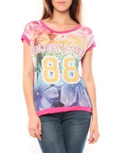 T-shirt 88 Rose - 1 acheté = 1 offert