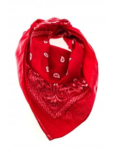 Bandana Rouge - vetement femme