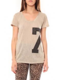 Tee shirt SL1601 Beige