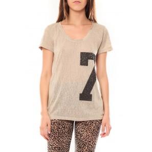 Tee shirt SL1601 Beige 1 acheté = 1 offert