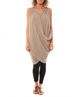 Short  Dress Blakie SL 10110956 Taupe - vetement femme