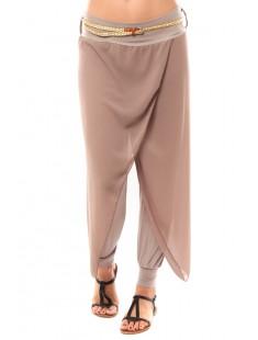 Pantalon O.D Fahion Beige - vetement femme
