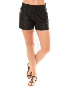 Shorts Grooved NW Blue 10113956 Noir - vetement femme