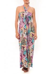 Robe Sylvia F587 Violet - 1 acheté = 1 offert