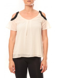T-shirt Moni&Co 328 Beige