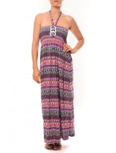 Robe Sylvia  F586 Violet - 1 acheté = 1 offert