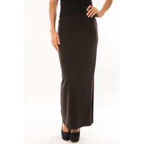 Jupe Fashion Longue  Marron 1 acheté = 1 offert- vetement femme