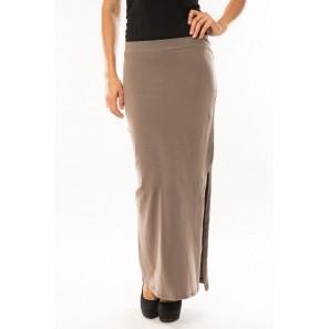 Jupe Longue Fashion Beige 1 acheté = 1 offert