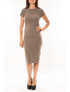 Robe Fashion Taupe - vetement femme