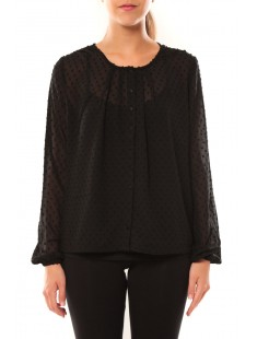 Shirt It Stories L/S 10115643 Noir - vetement femme