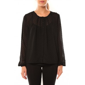 Shirt It Stories L/S 10115643 Noir