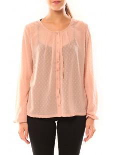 Shirt It Stories L/S 10115643 Rose - vetement femme