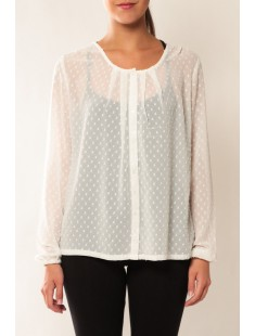 Shirt It Stories L/S 10115643 Blanc - vetement femme