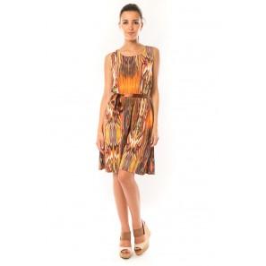 Robe Elissa B369 Orange - 1 acheté = 1 offert