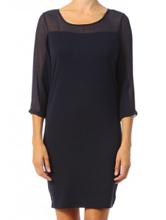 Short Dress It Jake 3/4 10118490 Black iris - vetement femme