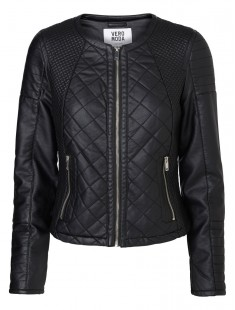 Short PU Jacket Sanna 10113310 Noir