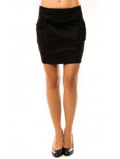 Jupe Luizacco P6005 Noir - vetement femme