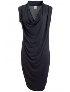 Short Dress It Dina Drapy S/L Bleu - vetement femme