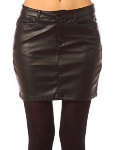 Short PU Skirt Wonder NW 10117232 Noir - vetement femme