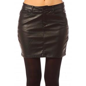 Short PU Skirt Wonder NW 10117232 Noir
