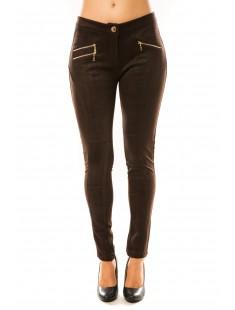 Pantalon P604 Marron - vetement femme