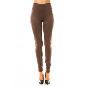 Pantalon Décontract Marron
