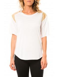 T-shirt CQTW14410 Blanc - vetement femme