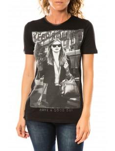 T-shirt Working Noir - vetement femme
