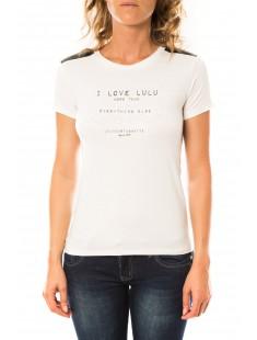 T-shirt Funk Blanc