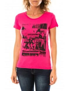 T-shirt Mag Rose - vetement femme