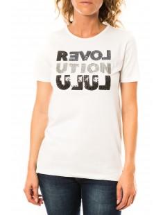T-shirt Sequy Blanc - vetement femme
