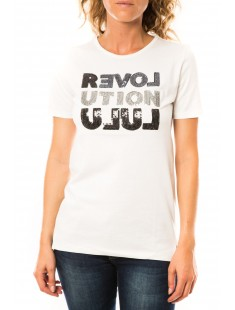 T-shirt Sequy Blanc