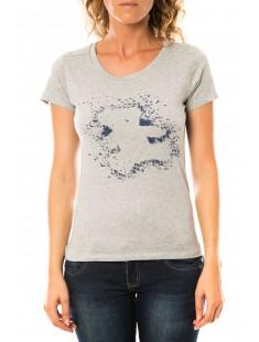 T-shirt Troupe Gris - vetement femme