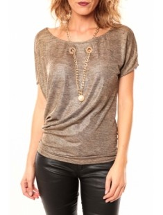 T-shirt Luc-ce LC-0145 Taupe